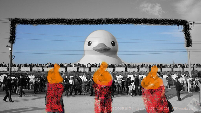 SONY DSC 2013桃園地景藝術節~黃色小鴨 2013桃園地景藝術節~黃色小鴨 DSC03602
